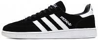 Мужские кроссовки Adidas Spezial Original Black Suede White
