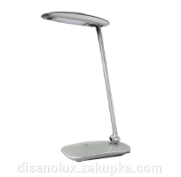 Настольная лампа DL-5005 LED 6W серебристый