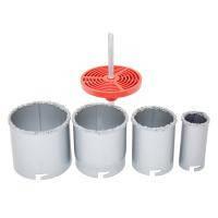 Коронки по бетону кольцевые 5шт с вольфрам. Напылением(33,53,67,83)  sigma (1512051)