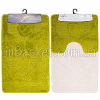 """Комплект ковриков для ванной  """"Lime leaf"""""""