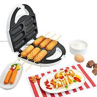 Сосисочница хотдоггер LIVSTAR LSU-1215, 6 порций, антипригарное покрытие, 700-800Вт, 220В, индикатор