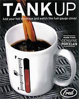 Кружка чашка Бензоколонка (TANK UP)