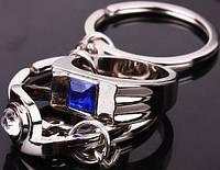Набор из 2х брелков для влюбленных (мужской и женский перстень)