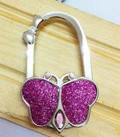 Крючок держатель для женской сумки Бабочка