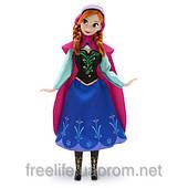 "Кукла Анна из м/ф ""Холодное сердце"" Дисней Frozen Anna Disney Store Classic"
