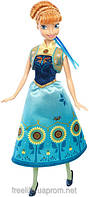 Кукла Анна из мультфильма Холодное сердце в новом наряде НОВИНКА 2015г Frozen Fever Anna Doll
