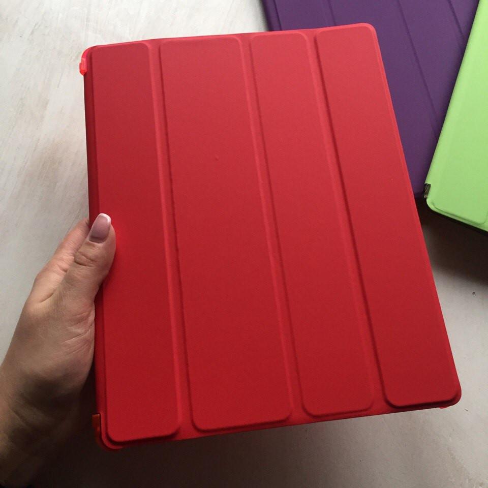 Чехол Smart case для iPad 2/3/4 красного цвета