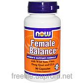 Женский баланс, Female Balance, Now Foods, 90 капсул