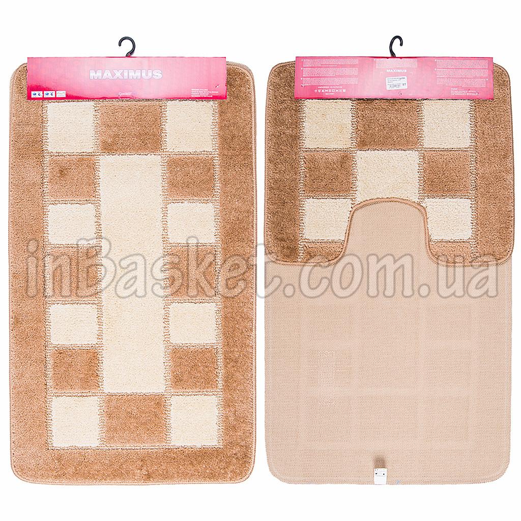 """Комплект ковриков для ванной """"Brown Domino"""""""