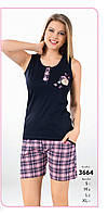 Пижама шорты женская FAWN арт:3664