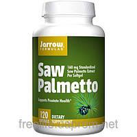 Со Пальметто, Пальма Сереноа, Jarrow Formulas, 160 мг, 120 капсул