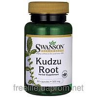 Кудзу корень, Swanson, 500 мг, 60 капсул