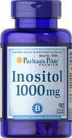 Витамин В8 Инозитол 1000 мг при планировании беременности, Puritan's Pride, 90 капсул