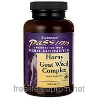 Эпимедиум Горянка для мужчин, Horney Goat Weed, 120 капсул
