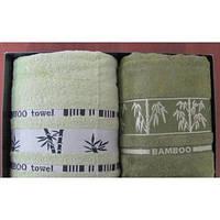 Полотенце ARYA Bonita бамбук 2 шт. зеленый