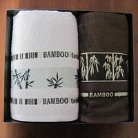 Полотенце ARYA Bonita бамбук 2 шт. Темно-Коричневый