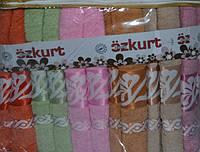 Комплект банных махровых полотенец Ozkurt Хлопок 70x140 см (6шт.)