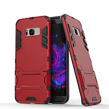 Чехол накладка силиконовый Armor Shield для Samsung S8 Plus G955 красный
