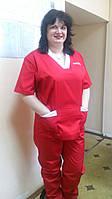 Летний костюм для скорой помощи, медицинская униформа