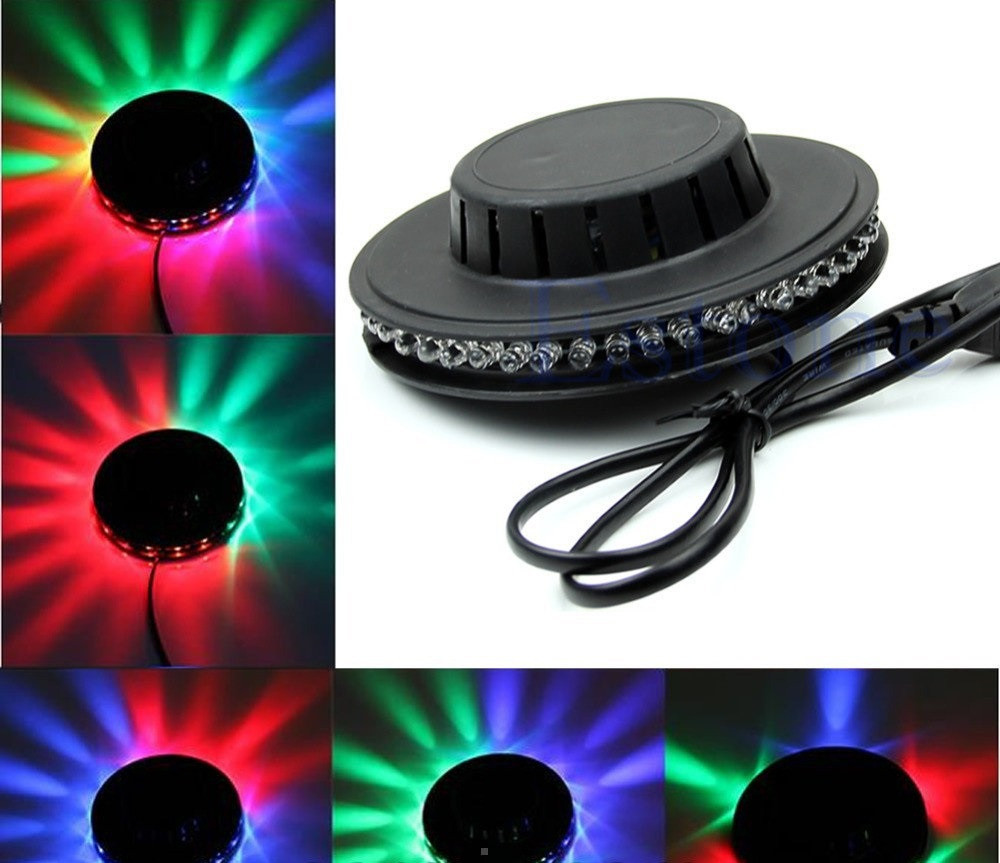 Светомузыка проектор диско-диск Discodisk Little Sun
