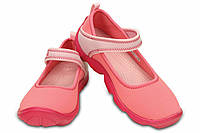 Крокс crocs Girls' Duet Busy Day Shoe