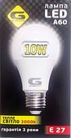 LED лампа G-tech 10w E27 3000K