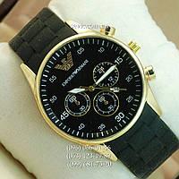 Наручные часы Armani Quartz 6990 Gold-Black Silicone