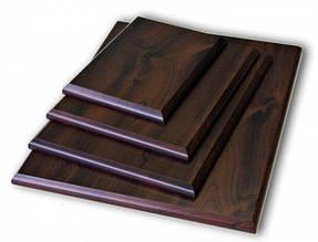 Подложка деревянная прямоугольная с отверстием для крепления (20х25см)