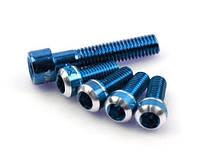 Болты Mowa для флягодержателей и рулевой, синие