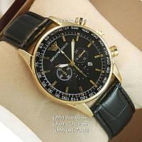 Наручные часы Armani Quartz 7310 Black-Gold-Black