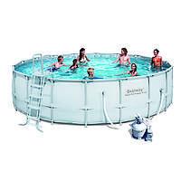 Каркасный бассейн Bestway 56464 с песочным фильтром (549х132)