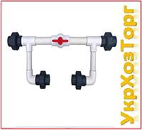 Инжекторный узел 1½ (Байпас) для внесения удобрений Presto-PS