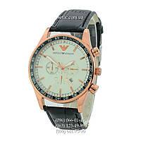 Наручные часы Armani Quartz 6990 Black-Bronze-White