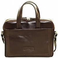 Кожаная сумка для ноутбука Mk65