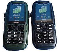 Защищённый телефон Land Rover S23 на 3 Sim! (чёрный, зелёный)