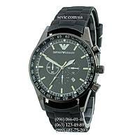 Наручные часы  Armani Quartz 6990 All Black Silicone (реплика)