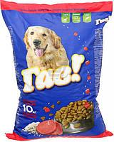 Гав! корм для взрослых собак телятина с рисом, 10 кг