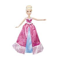 DPR Модная кукла Золушка в роскошном платье-трансформере, C0544