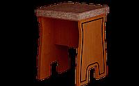 Табурет кухонный, одноместный, размер 46х34х34 см, мягкий Юля