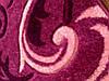 Ковер Радуга 1702 дарк пинк, фото 2