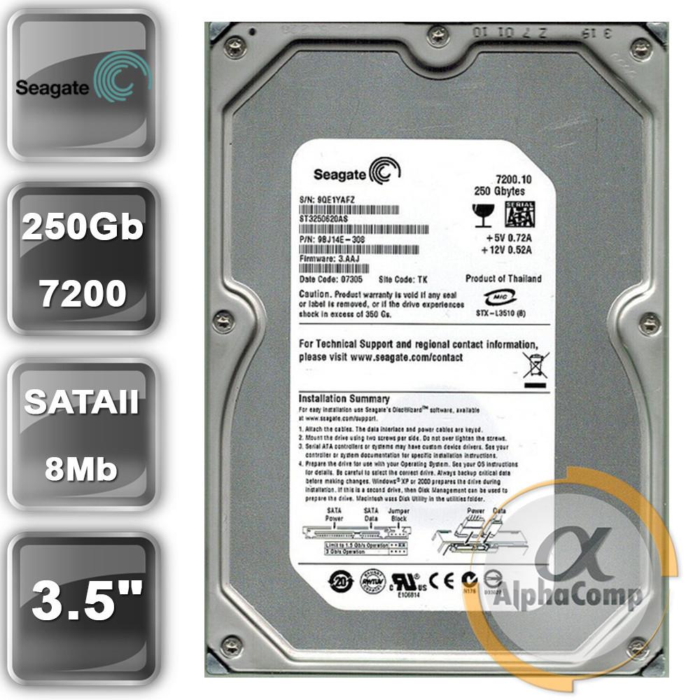 "Жесткий диск 3.5"" 250Gb Seagate ST32508248CE (8Mb/7200/SATAII) БУ"