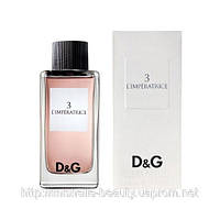 Женская туалетная вода Dolce & Gabbana 3 L`Imperatrice (Дольче  Габбана Императрица)