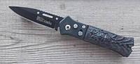 Автоматический нож Columbia Voodoo армейский, походные ножи, фото 1