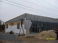 Частный дом строительство ЛСТК, Сендвич