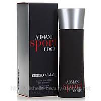 Мужская туалетная вода Giorgio Armani Code Sport (Джорджио Армани Код Спорт)
