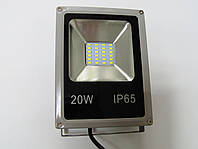 Светодиодный прожектор LED 20W Slim стандарт SMD (серый)
