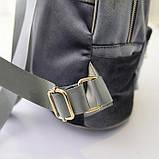 Рюкзак женский бархатный (фиолетовый), фото 6