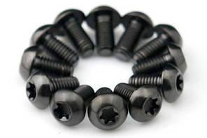 Болты Титановые для роторов, черные