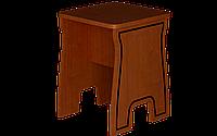 Табурет кухонный, одноместный, размер 43х34х34 см,  жесткий Юля