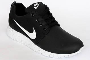 """Кроссовки  на девочку  """"Nike"""" черные с белым"""